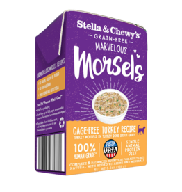 Stella & Chewy's Stella & Chewy's Canned Cat Food CASE Marvelous Morsels Turkey 5.5 oz