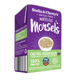 Stella & Chewy's Stella & Chewy's Canned Cat Food Marvelous Morsels | Chicken 5.5 oz CASE