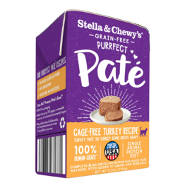 Stella & Chewy's Stella & Chewy's Canned Cat Food Purrfect Pate | Turkey 5.5 oz CASE
