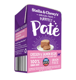 Stella & Chewy's Stella & Chewy's Canned Cat Food CASE Purrfect Pate Chicken & Salmon 5.5 oz