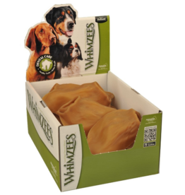 Whimzees Bulk Dental Chews CASE Veggie Ear Large
