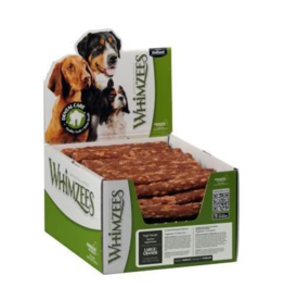 Whimzees Whimzees Bulk Dental Chews CASE Veggie Sausage Large
