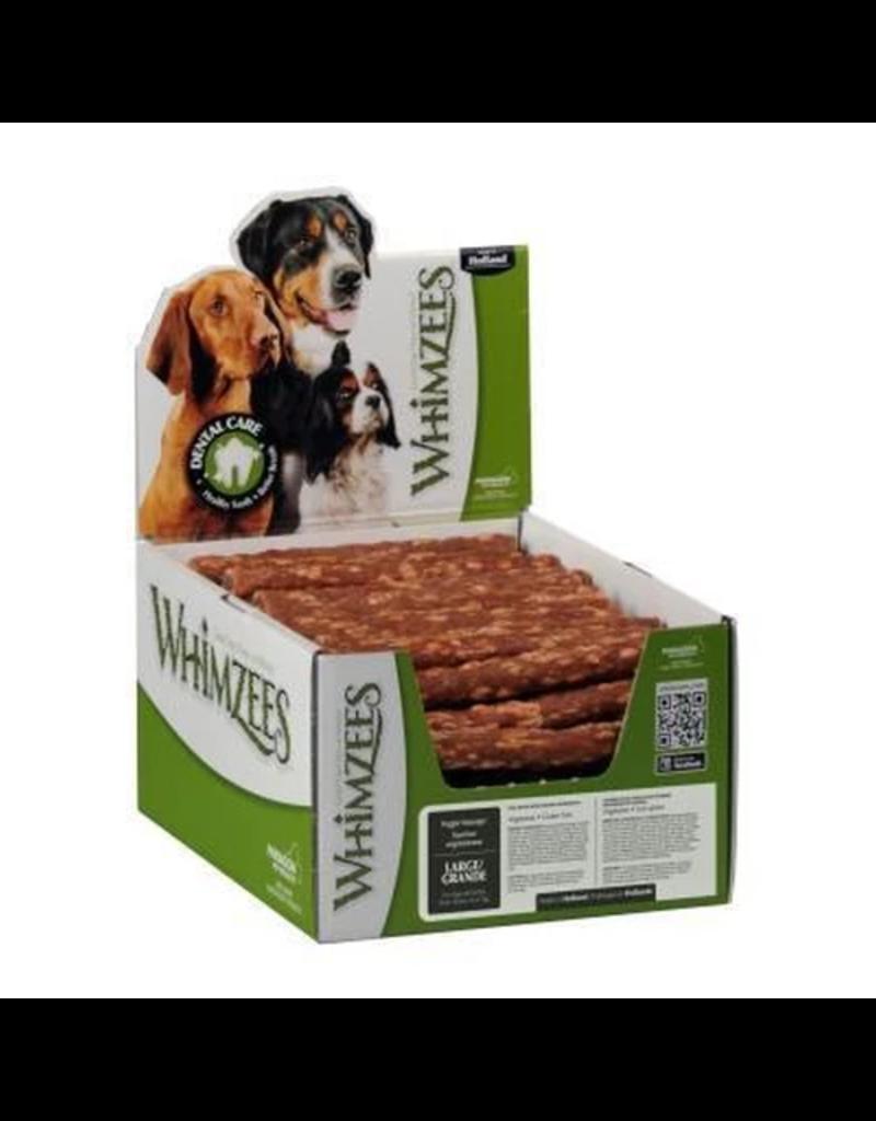 Whimzees Bulk Dental Chews CASE Veggie Sausage Large