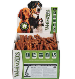 Whimzees Whimzees Bulk Dental Chews CASE Veggie Sausage Small