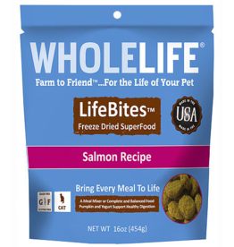 Whole Life Whole Life Freeze Dried Cat Food Salmon Recipe 16 oz