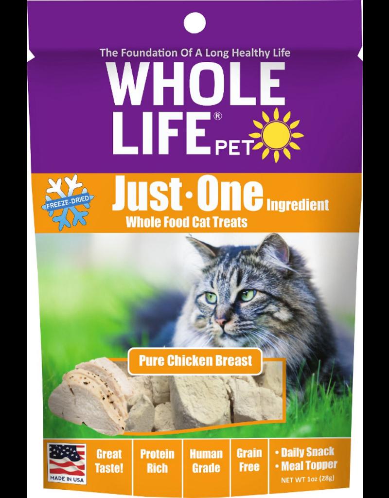 Whole Life Freeze Dried Cat Treats Chicken 1 oz