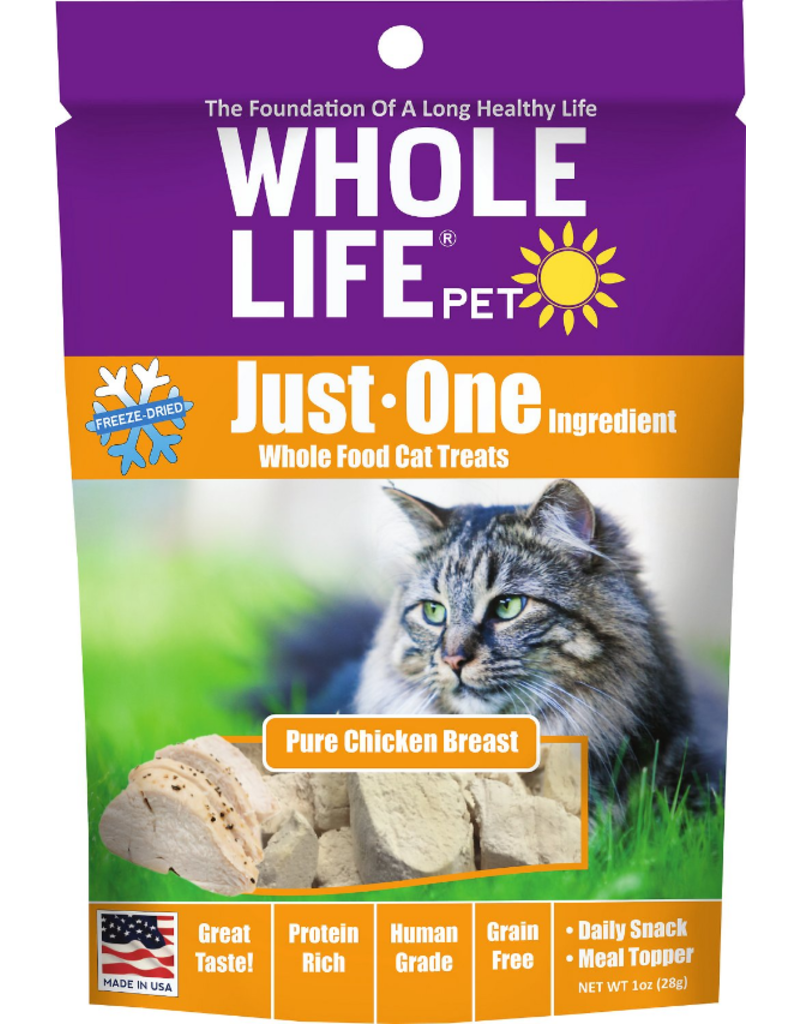 Whole Life Whole Life Freeze Dried Cat Treats Chicken 1 oz