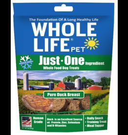 Whole Life Freeze Dried Dog Treats  Pure Duck 3 oz