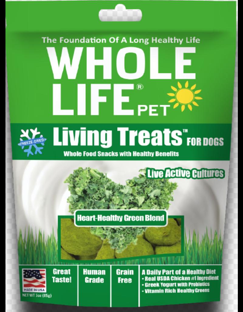 Whole Life Freeze Dried Dog Treats  Kale Go Green 2.3 oz