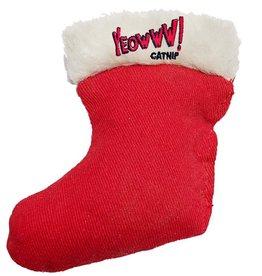 Yeowww! Yeowww! Christmas Cat Toys Catnip Stocking single