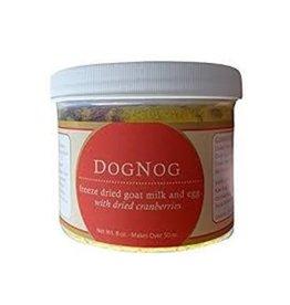 Steve's ENHANCE Freeze Dried Goat Milk DogNog Milk & Egg 1.6 oz Glass Jar