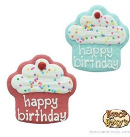 Bosco and Roxy's Bosco & Roxy's Birthday Collection Happy Birthday Cupcakes single