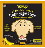 Yoghund Yoghund Frozen Yogurt CASE Banana & Peanut Butter 4 pack / 3.5 oz cups (*Frozen Products for Local Delivery or In-Store Pickup Only. *)