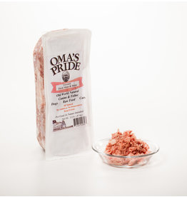 Oma's Pride Oma's Pride O'Paws Dog Raw Frozen Ground Duck Meat & Bone 2 lb (*Frozen Products for Local Delivery or In-Store Pickup Only. *)