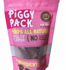 Bare Bites Bare Bites Dog Treats Pork Piggy Pack 6 oz