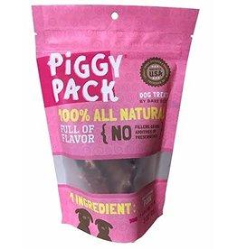 Bare Bites Dog Treats Pork Piggy Pack 6 oz