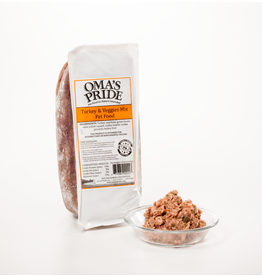 Oma's Pride Oma's Pride Frozen Mixes Turkey Mix 1 lb (*Frozen Products for Local Delivery or In-Store Pickup Only. *)