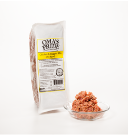 Oma's Pride Oma's Pride Frozen Mixes Chicken Mix 2 lb CASE (*Frozen Products for Local Delivery or In-Store Pickup Only. *)
