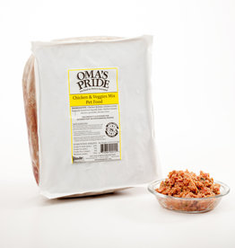 Oma's Pride Oma's Pride Frozen Mixes Chicken Mix 5 lb CASE (*Frozen Products for Local Delivery or In-Store Pickup Only. *)