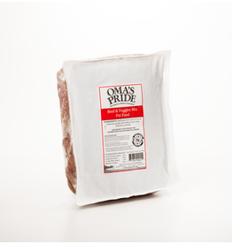Oma's Pride Oma's Pride Frozen Mixes CASE Beef Mix 5 lbs (*Frozen Products for Local Delivery or In-Store Pickup Only. *)