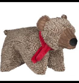 HuggleHounds Huggle Hounds 2019 Christmas Cozy Cottage Bear Squooshie Plush One Size