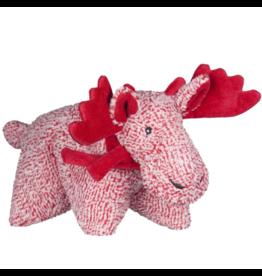 HuggleHounds HuggleHounds 2019 Christmas Cozy Cottage Moose Squooshie Plush One Size