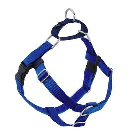 """2 hounds Design 2 Hounds Design Freedom No-Pull 1"""" Harness Royal Blue Medium"""