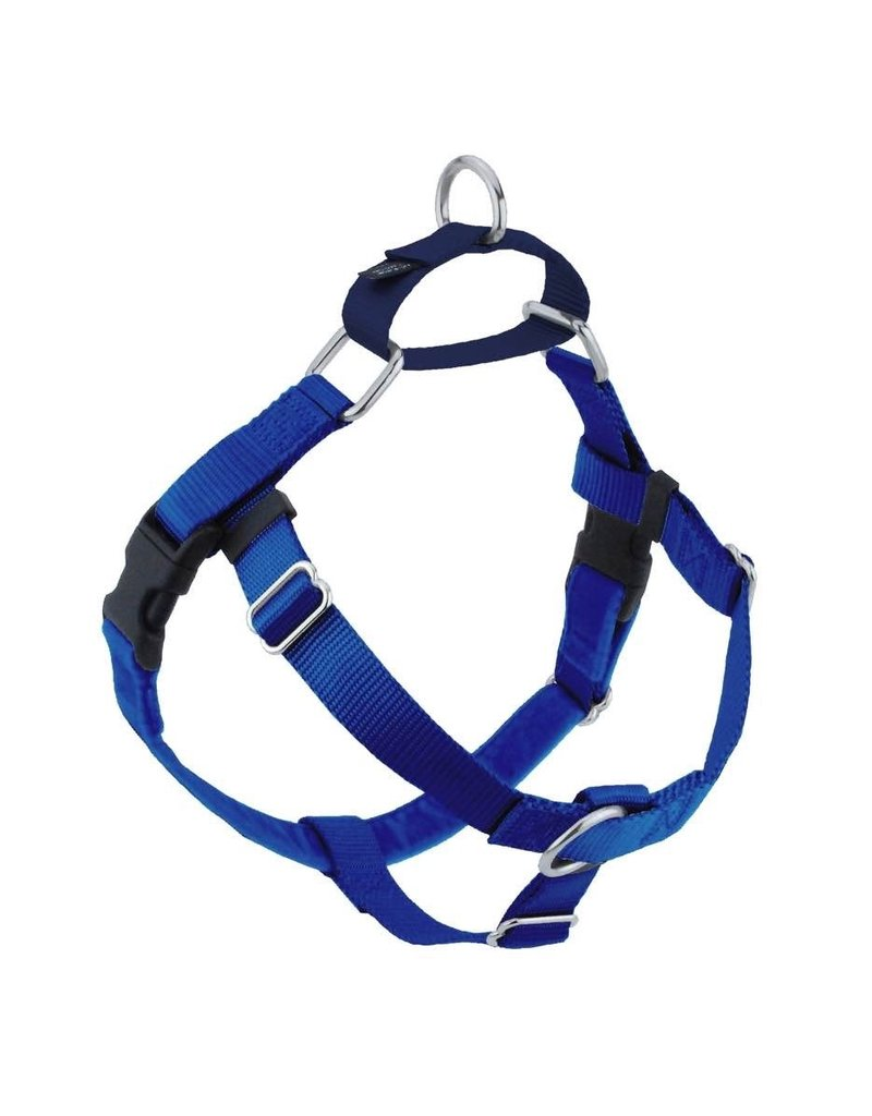 "2 hounds Design 2 hounds Design Freedom No-Pull Harness 1"" Large Royal Blue"