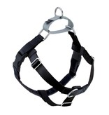 """2 hounds Design 2 Hounds Design Freedom No-Pull Harness 1""""  Extra Large Black"""