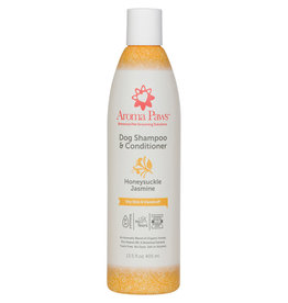 Aroma Paws Aroma Paws Dog Shampoo & Conditioner 13.5 oz Honeysuckle Jasmine