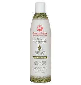 Aroma Paws Aroma Paws Dog Shampoo & Conditioner 13.5 oz Organic E.V. Olive Oil