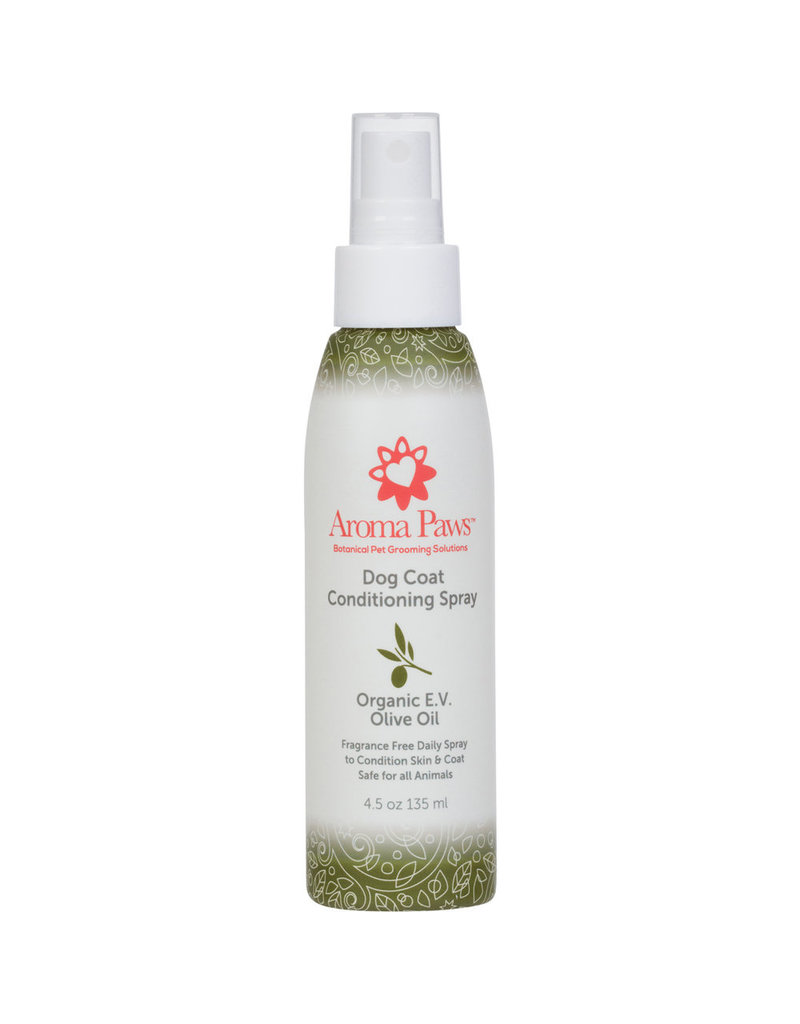 Aroma Paws Aroma Paws Dog Coat Conditioning Spray Organic E.V. Olive Oil 4.5 oz