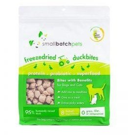Smallbatch Pets Smallbatch Freeze Dried Dog Treats Bites | Duck 7 oz Single