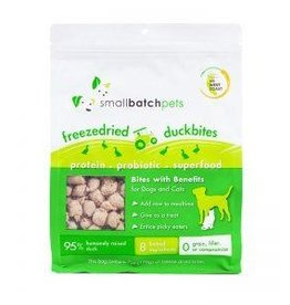 Smallbatch Pets Smallbatch Freeze Dried Dog Treats Bites | CASE Duck 7 oz