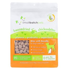 Smallbatch Pets Smallbatch Freeze Dried Dog Treats Bites | Chicken 7 oz Single