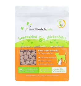 Smallbatch Pets Smallbatch Freeze Dried Dog Treats Bites | CASE Chicken 7 oz