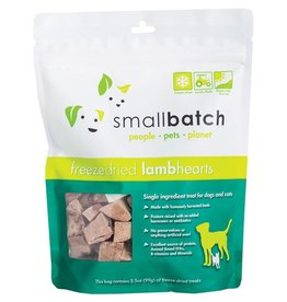 Smallbatch Pets Smallbatch Freeze Dried Treats | Lamb Hearts 3.5 oz