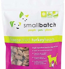 Smallbatch Pets Smallbatch Freeze Dried Treats | CASE Turkey Hearts 3.5 oz