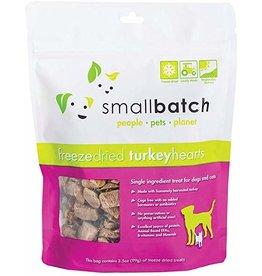Smallbatch Pets Smallbatch Freeze Dried Treats | CASE Turkey Hearts 3.5 oz