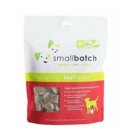 Smallbatch Pets Smallbatch Freeze Dried Treats | Beef Hearts 3.5 oz Single