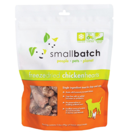 Smallbatch Pets Smallbatch Freeze Dried Treats | Chicken Hearts 3.5 oz Single