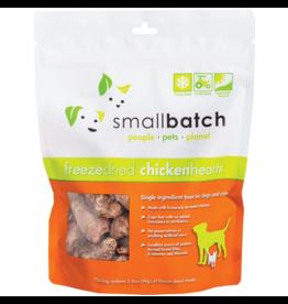 Smallbatch Pets Smallbatch Freeze Dried Treats | CASE Chicken Hearts 3.5 oz