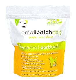 Smallbatch Pets Smallbatch Freeze Dried Dog Food Sliders | Pork 14 oz Single
