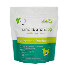 Smallbatch Pets Smallbatch Freeze Dried Dog Food Sliders | Lamb 14 oz Single