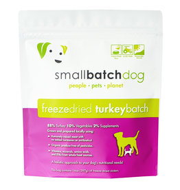 Smallbatch Pets Smallbatch Freeze Dried Dog Food Sliders | CASE Turkey 14 oz