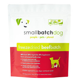 Smallbatch Pets Smallbatch Freeze Dried Dog Food Sliders | CASE Beef 14 oz