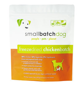 Smallbatch Pets Smallbatch Freeze Dried Dog Food Sliders | CASE Chicken 14 oz