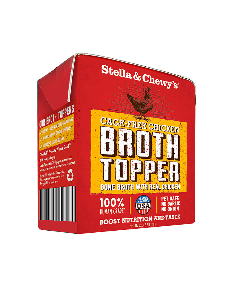 Stella & Chewy's The Pet Beastro Stella & Chewy's Bone Broth Topper Chicken 11 oz To Improve Cats and Dogs Hydration