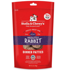 Stella & Chewy's Stella & Chewy's Freeze Dried Dog Food  Absolutely Rabbit Dinner 5.5 oz