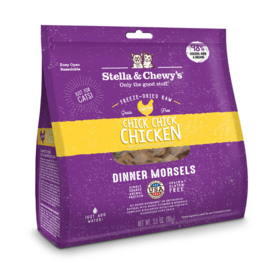 Stella & Chewy's Stella & Chewy's Freeze Dried Cat Food CASE Chick Chick Chicken Dinner Morsels 18 oz